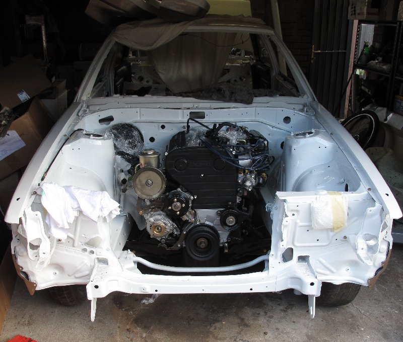 Install the Engine in Car
